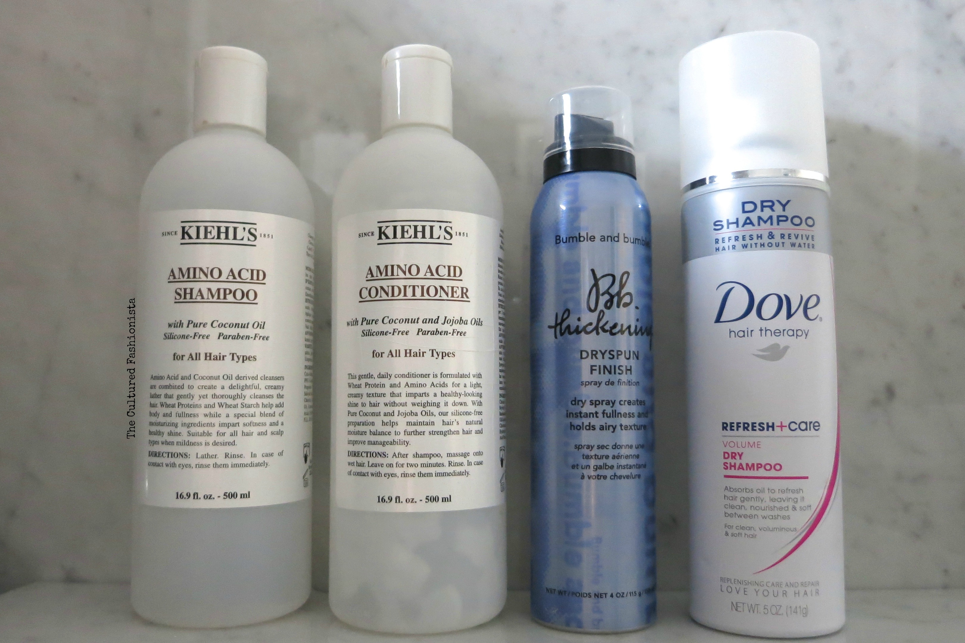 Haircare Empties The Cultured Fashionista Kiehls Amino Acid Conditioner