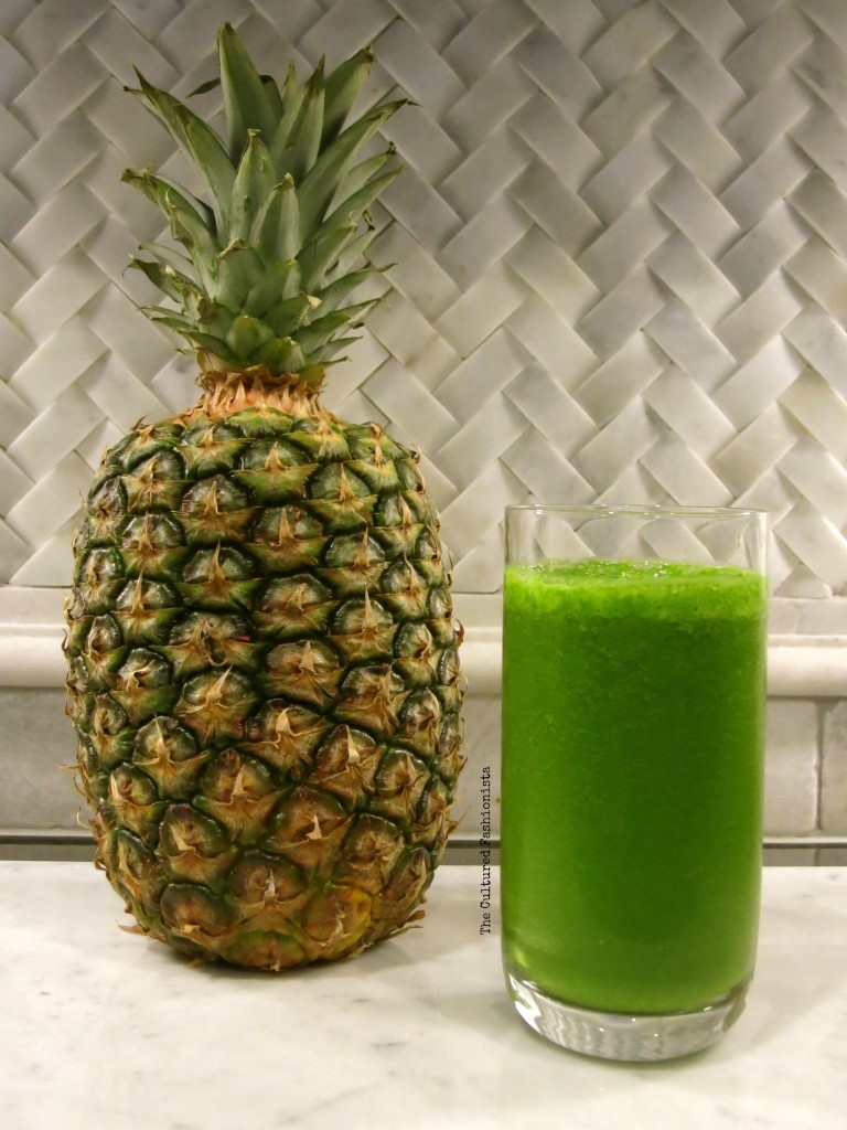 Image of a super green smoothie