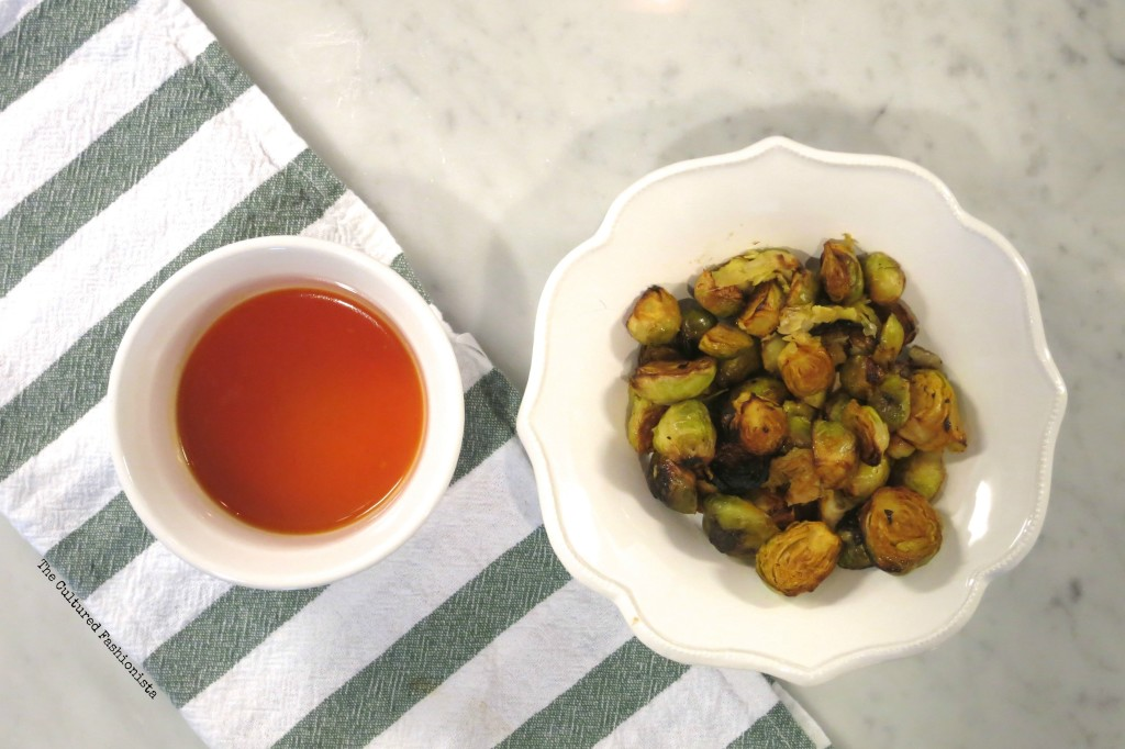 Image of Sriracha Honey Lime Brussel Sprouts