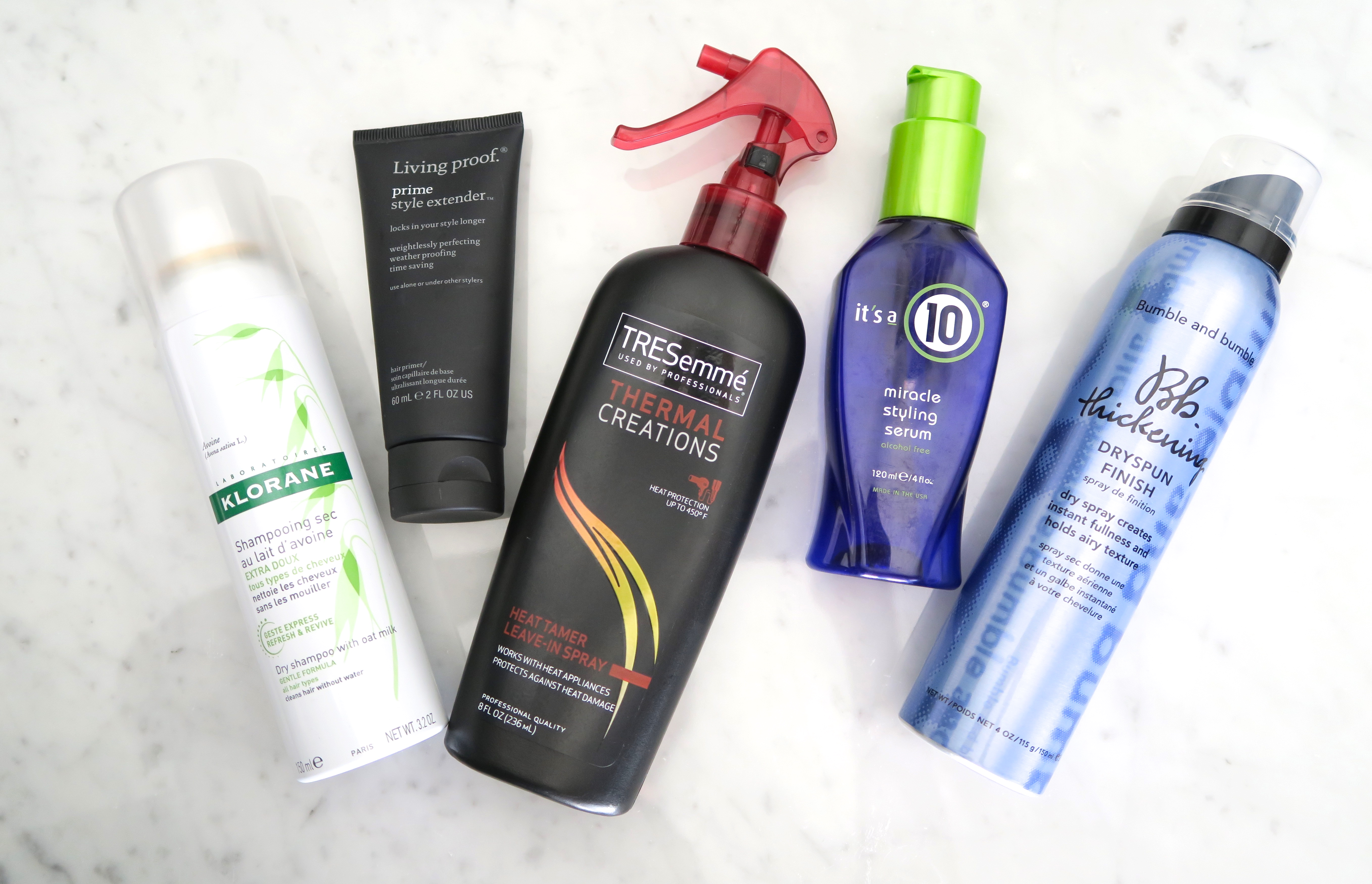 Hair Styling Products Im Currently Using The Cultured Fashionista