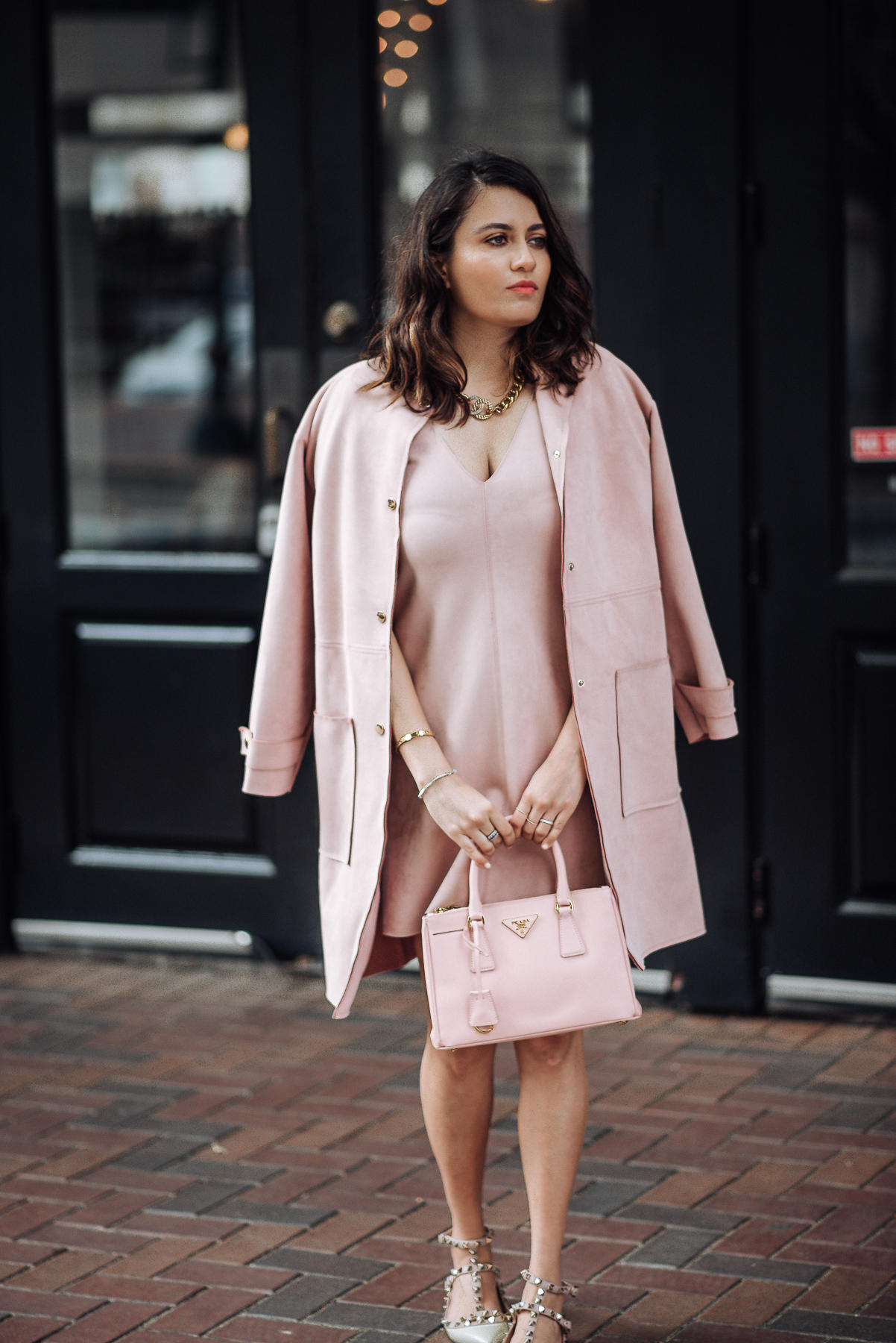 Image of Pink | The Cultured Fashionista | Pink Zara Dress
