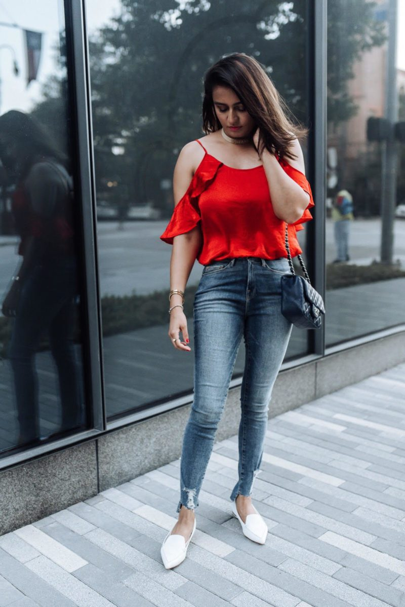 Image of Red white and blue | nordstrom sale | the cultured fashionista | good american jeans