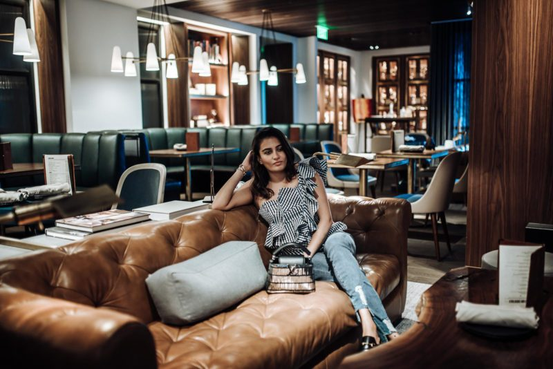 Image of The Four Seasons Houston | Best Hotel Houston | The Cultured Fashionista | Bayou and Bottle