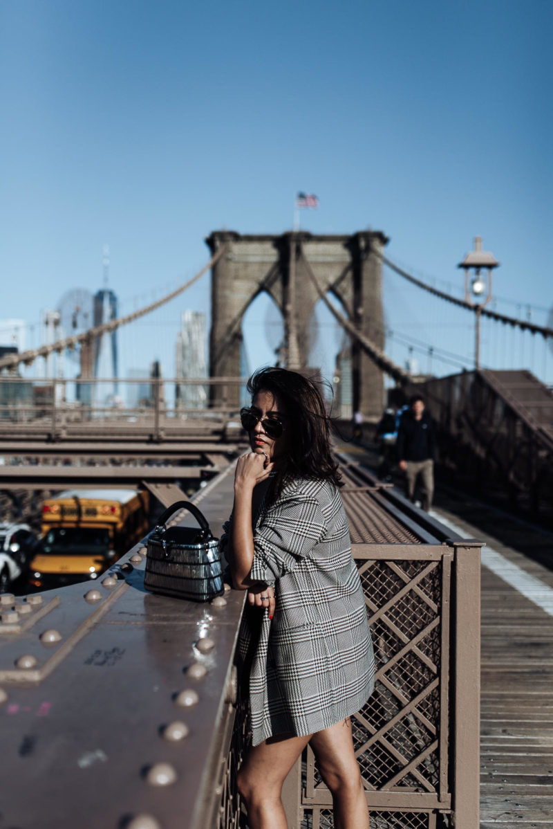 Image of Things I learnt at New York Fashion Week | The Cultured Fashionista | Zara Outfit | Brooklyn Bridge