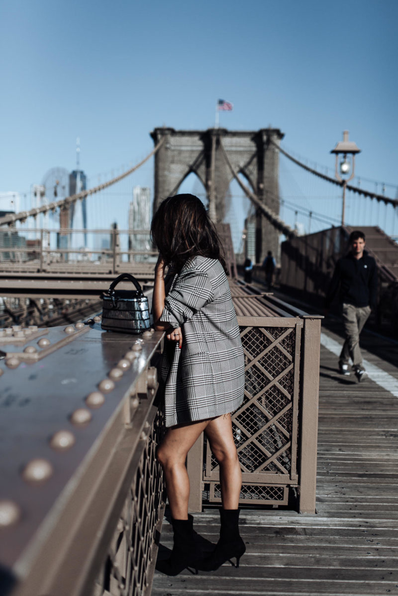 Image of Things I learnt at New York Fashion Week   The Cultured Fashionista   Zara Outfit   Brooklyn Bridge